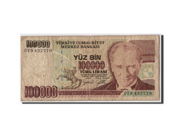 Turquie, 100,000 Lira, L.1970 (1998), KM:205, Non Daté, B - Turkey