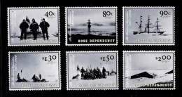 Ross Dependency (New Zealand) 2002 The Discovery Expedition Set Of 6 MNH - - Ross Dependency (New Zealand)