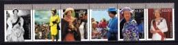 New Zealand 2001 Queen Elizabeth Strip Of 6 MNH - New Zealand