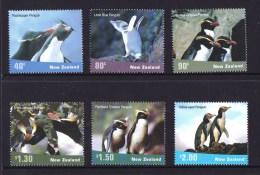 New Zealand 2001 Penguins Set Of 6 MNH - Nouvelle-Zélande