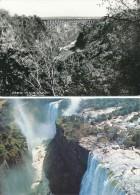Rhodesia - Victoriafälle , 2 AK - Sambia