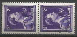 724 O  Paire  **  Surc. Mauve  1 Renversée - 1946 -10%