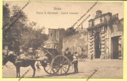 CPA ROMA  PORTA S  GIOVANNI  CARRO ROMANO ( Prix Net ) - Roma (Rome)