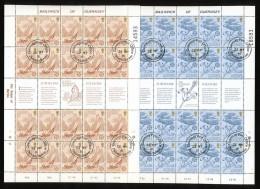 GUERNSEY Mi.Nr. 223-224 Europa-  Folklore - Kleinbogen - 1981 - Used - Europa-CEPT