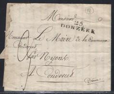 Drome, 25/Donzere Sans Date - Indice 12 - Storia Postale