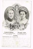 Fredrich Wilhelm & Herzogin Cecilie - Verlobte - 1904 - Familles Royales