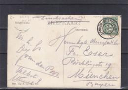 RELAIS - Pays Bas - Carte Postale De 1907 - Imprimé - Oblitération Relais Arnhem Rotterdam - Periode 1891-1948 (Wilhelmina)
