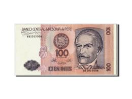 Pérou, 100 Intis, 1987, 1987-06-26, KM:133, SPL - Pérou