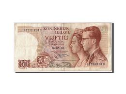 Belgique, 50 Francs, 1966, KM:139, 1966-05-16, TB+ - [ 6] Treasury