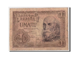 Espagne, 1 Peseta, 1953, KM:144a, 1953-07-22, B - [ 3] 1936-1975 : Régence De Franco