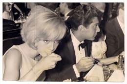 Photo  SYLVIE VARTAN  Et  PAUL ANKA  -  13 Septembre 1963 - Reproductions