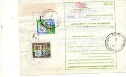 1985  BOLLETTINO PACCHI    ASSICURATO PERFIN - 6. 1946-.. Repubblica
