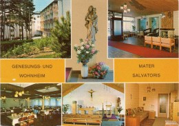 Genesungs U. Wohnheim Mater Salvatoris - Pitten 1990 Mehrbildkarte - Pitten