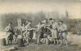 99em Régiment (Artillerie?) - Carte Photo, Cantine. - Régiments