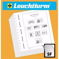 LEUCHTTURM SF-hojas Preimpresas Lituania 2010-2014- MONTADAS HAWID - Pre-Impresas