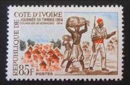 JOURNEE DU TIMBRE 1964 - NEUF ** - YT 229 - MI 277 - Ivory Coast (1960-...)