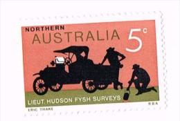 Northern Australia 5 C. -  Lieutenant Hudson Fysh Surveys & A Ford Truck - Australie