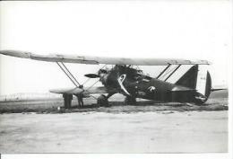 """AVION BREGUET """" POINT D'INTERROGATION """"   ( AVION - CP PHOTO 10 X 15 ) - Avions"""