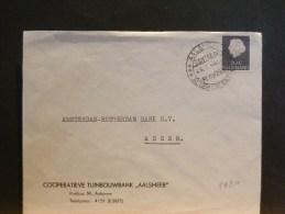 A5981     BRIEF HOOFDING THEMA BLOEMEN - 1949-1980 (Juliana)