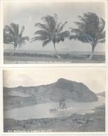 PANAMA CANAL ZONE 2 CPA DIFFERENTES CIRCA 1925 TBE DOS NON DIVISE UNCIRCULATED - Panama