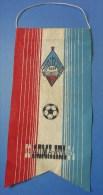 Soviet Union USSR FOOTBALL Club Flag PENNANT KSSR Kairat  ALMA-ATA Since 1964 - Sports