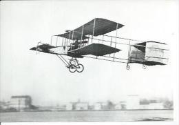 BIPLAN VOISIN 1908   ( Animée - AVION - CP PHOTO 10 X 15 ) - Avions