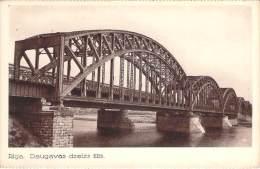 Lettonie - Riga - Daugavas Dzelzs Tilts - Lettonie