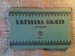 Lettonie - Latvijas Skati, Carnet Dépliant Complet De 10 Cartes - Lettonie