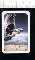 2 Scans / 2012 : Premier Saut Depuis La Stratosphère - Félix Baumgartner / Saut En Parachute  / TL 184/2 - Vieux Papiers