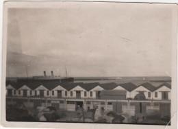 Photo originale marine Bateau Paquebot et lieu � identifier