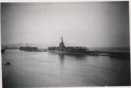 Photo originale marine guerre navire et lieu � identifier