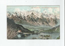 NEW ZEALAND THE REMARKABLES  LAKE WAKATIPU 1908 - Nouvelle-Zélande