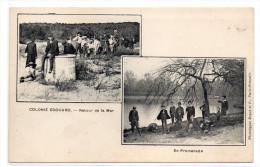 Gironde : Colonie Edouard : Retour De La Mer - France