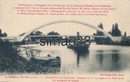 ST PIERRE DE VAUVRAY - N° 3 - NOUVEAU PONT EN CIMENT ARME - LONGUEUR 131 M 10, LARGEUR 8 M, FLECHE 30 M - Autres Communes