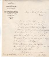08 Savigny Sur Aisne- Correspondance De 1886 Hachette-Decharbogne Vanniers.Tb état. - 1800 – 1899