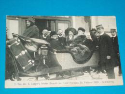 Europe ) Autriche - S.exc, Dr.c. Lueger's Letzter Besuch Im Hotel Panhans 24. Februar 1909 . Semmering - Neunkirchen