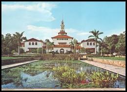 GHANA. BALME LIBRARY, UNIVERSITY OF GHANA, LEGON (Unused Postcard, 1970´s) - Ghana - Gold Coast
