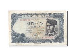 Espagne, 500 Pesetas, 1970-1971, KM:153a, 1971-07-23, TB+ - [ 3] 1936-1975 : Régence De Franco
