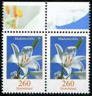 BRD - Michel 3207 Waagrechtes Paar - ** Postfrisch (G) - Blumen 260C  Madonnenlilie Ausgabe 11.02.2015 - BRD