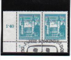 CC938  ÖSTERREICH  1958/60  MICHL 1046 Symbolzahl 1 - 4 Used / Gestempelt ZÄHNUNG Siehe ABBILDUNG - 1945-.... 2nd Republic