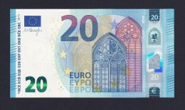(BE046) - 20 € - ITALIA - SD - DRAGHI - SC/UNC - S004B3 - EURO