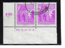 CC857  ÖSTERREICH  1958/60  MICHL 1051 Symbolzahl 1 - 6  Used / Gestempelt ZÄHNUNG Siehe ABBILDUNG - 1945-.... 2nd Republic
