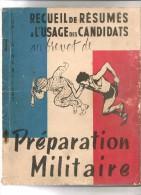 PREPARATION MILITAIRE USAGE DES CANDIDATS AU BREVET CAPITAINE MILLET 100 PAGES - Livres