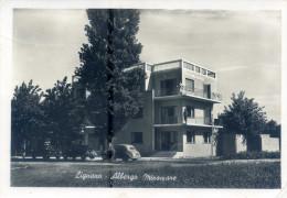 LIGNANO (Udine). Albergo MIRAMARE. Vg. C/fr. 1953. - Udine