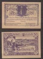 Österreich , Hellmonsödt - Notgeld , 50 Heller - Oesterreich