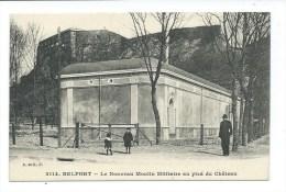 CPA BELFORT - LE NOUVEAU MOULIN MILITAIRE AU PIED DU CHATEAU - ANIMEE - Belfort - Ville