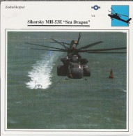 Helikopter.- Helicopter - Sikorsky MH-53E - Sea Dragon - VS. Verenigde Staten. USA. 2 Scans - Helikopters