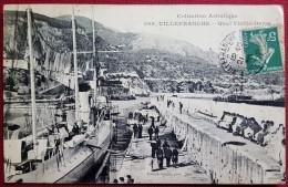 CPA-VILLEFRANCHE SUR MER-06-QUAIVIEILLE DARSE-N° 308 EDIT GILETTA NICE - Villefranche-sur-Mer