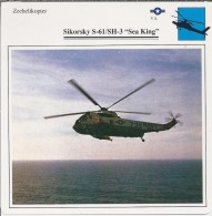 Helikopter.- Helicopter - Sikorsky S-61/SH-3 - Sea King - VS. Verenigde Staten. USA. 2 Scans - Hélicoptères