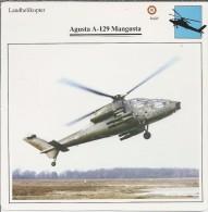 Helikopter.- Augusta A.129 - Mangusta -. Italië. 2 Scans - Helikopters